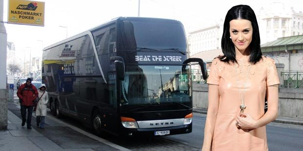 Katy Perry schlief am Wiener Naschmarkt