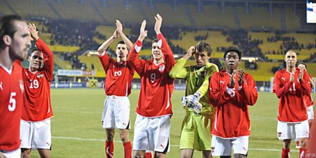 ÖFB-Teamspieler nach Dänemark-Sieg erleichtert