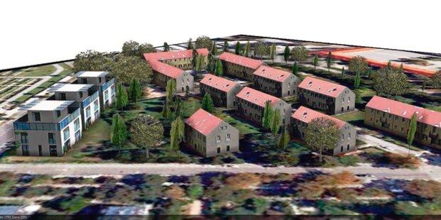 Luxusvillen zerstören Grünland