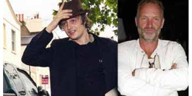 Sting ist sauer auf Pete Doherty