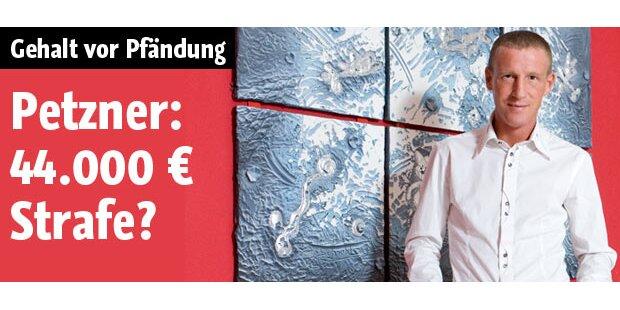 Stefan Petzner: 44.000 Euro Strafe?