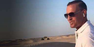 Petzner schickt sich in die Wüste
