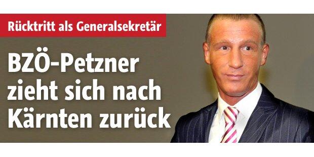 Petzner tritt als Generalsekretär zurück