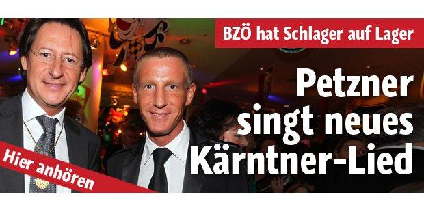 BZÖ-Hymne mit Petzner als Sänger