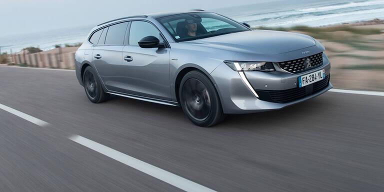 Neuer Peugeot 508 jetzt auch als Kombi