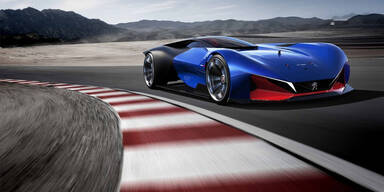 Peugeot zeigt spektakuläre Studie