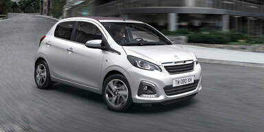 Peugeot bringt neuen 108 zum Kampfpreis