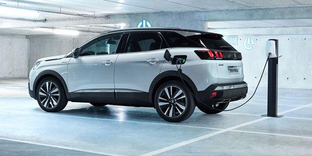 Das kosten Peugeots neue Plug-in-Hybrid-Autos