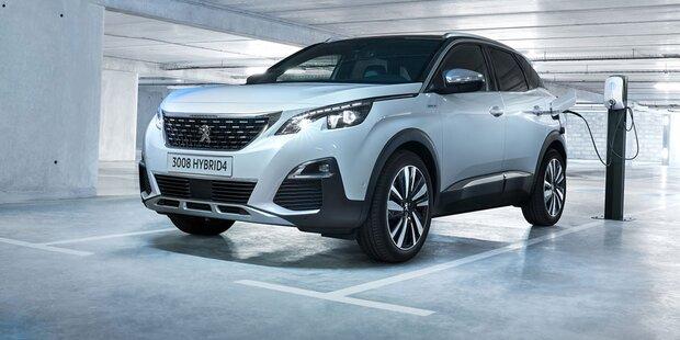 Alle Infos vom Peugeot 3008 Hybrid4