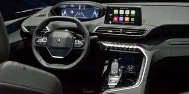 Peugeot zeigt neues Hightech-Cockpit