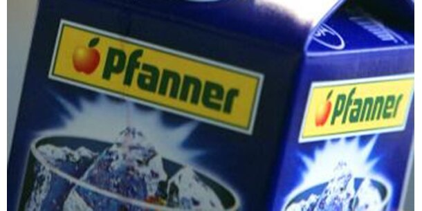 Saftiges Umsatzplus für Pfanner