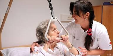 Pflege wird zusehends zeit- und geldintensiv
