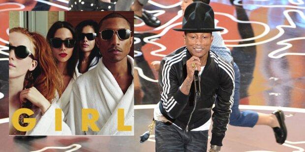 Neues Album von Pharrell Williams