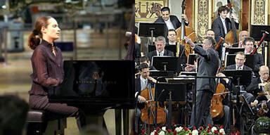 Helene Grimaud und Wiener Philharmoniker