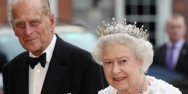 Als Philip einschlief, war die Queen an seiner Seite