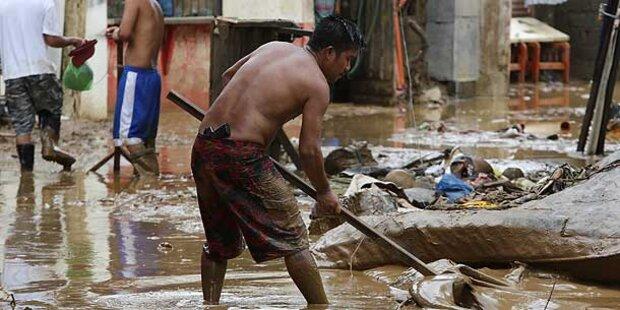 Philippinen: Schon 60 Tote nach Überschwemmungen