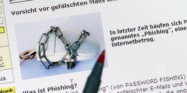 Phishing-Seiten wollen an private Daten kommen