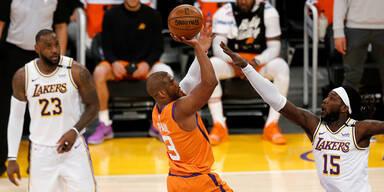 NBA-Play-offs: Phoenix Suns gegen die L.A. Lakers