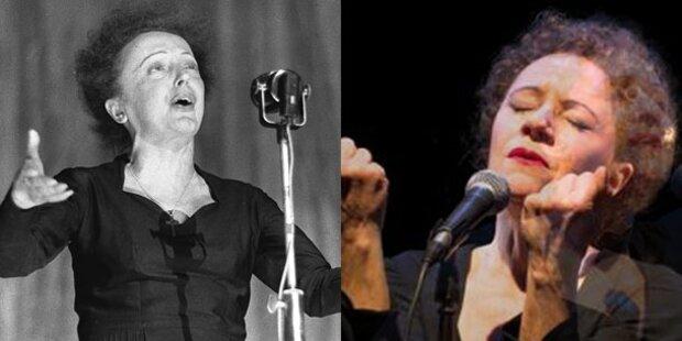 Maria Bill ehrt die große Edith Piaf