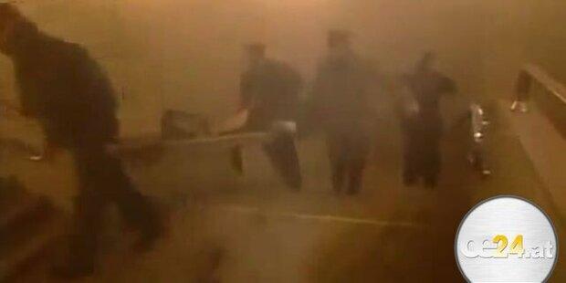 Bombenexplosion in U-Bahn