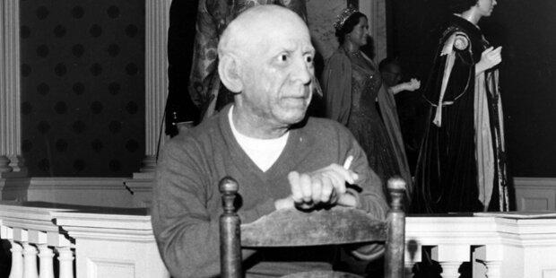 Bilder von Picasso gefunden