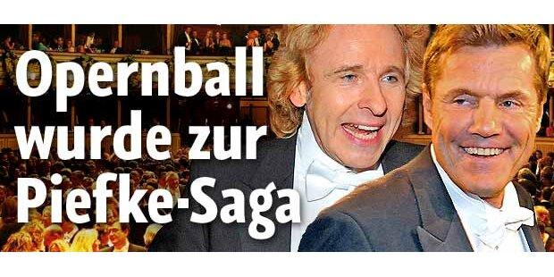 Opernball wurde zur Piefke-Saga