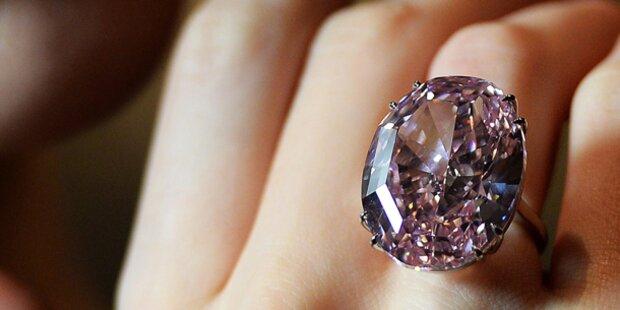 Teuerster Diamant: Käufer zahlte nicht