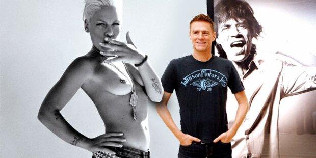Nackt für Bryan: Pink zeigt alles