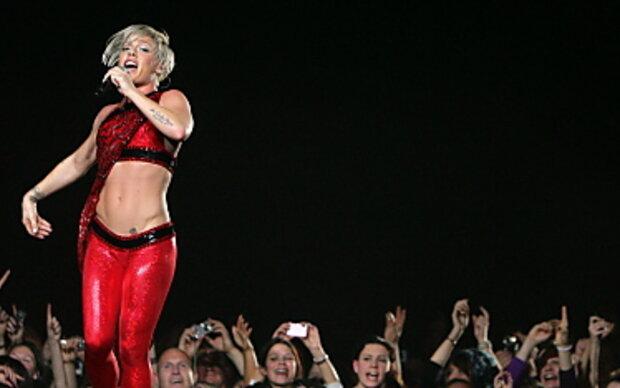 US-Popstar Pink startete in Frankfurt ihre Tournee