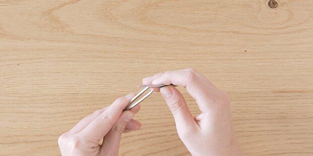 DIY: Pinzette schärfen