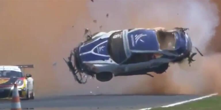 Unglaublicher Horror-Crash von Piquet