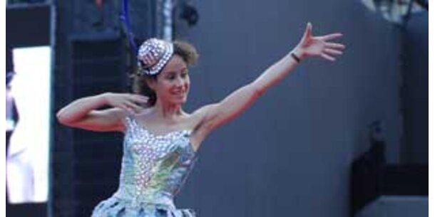 Sandra Pires darf nicht tanzen