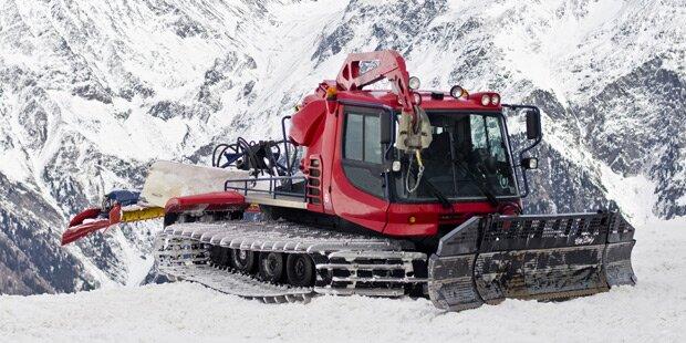 Skifahrer von Pistenraupe überrollt - tot