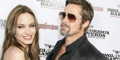 Pitt & Jolie in trauter Zweisamkeit