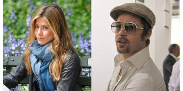 Aniston und Pitt hatten geheimes Date