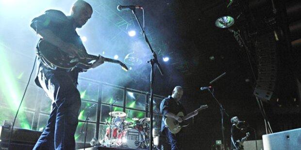 Pixies rockten Wiener Gasometer