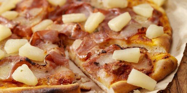 Islands Präsident will Ananas auf Pizza verbieten