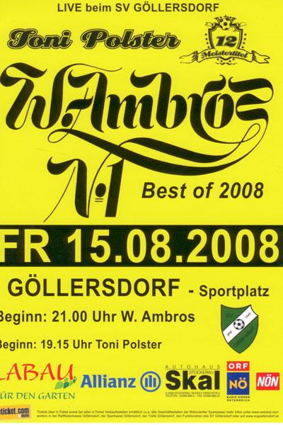 Plakat-Ambros,Polster