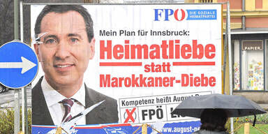Tirol: FPÖ entfernt umstrittenes Wahlplakat