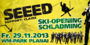 Großes Ski-Opening mit Seeed