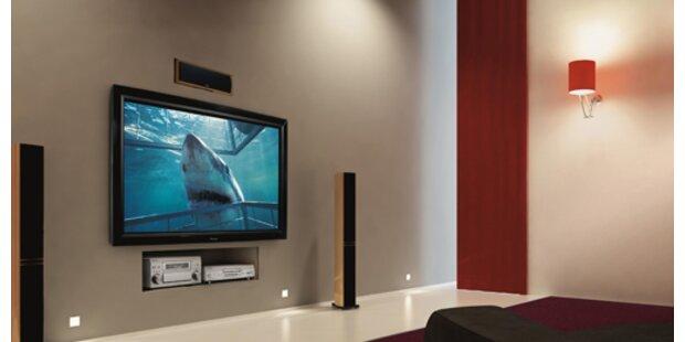 Erster TV mit vierfacher HD-Auflösung