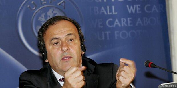 Zeitung: Platini kandidiert erneut als UEFA-Boss