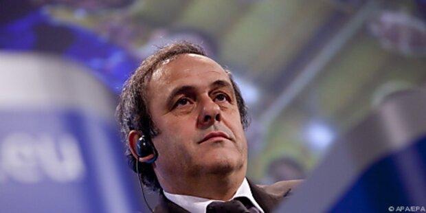 Platini erhöht Druck auf EM-Gastgeber Ukraine
