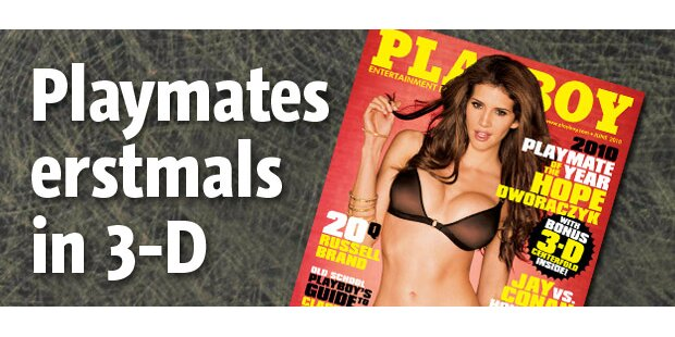 US-Playboy erscheint erstmals in 3D