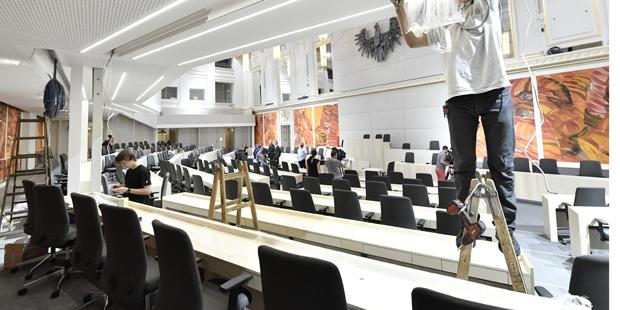 Plenarsaal Hofburg