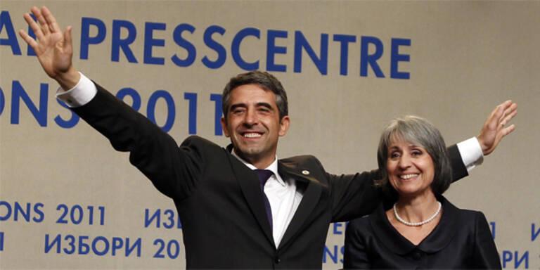 Plewneliew neuer Präsident Bulgariens