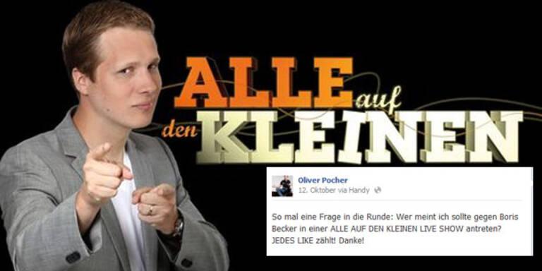 Oliver Pocher fordert Boris Becker zum Duell
