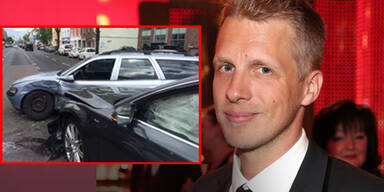 Oliver Pocher in schweren Verkehrsunfall verwickelt