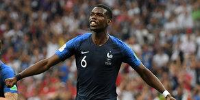 Frankreich: Drittes Tor gegen Kroatien