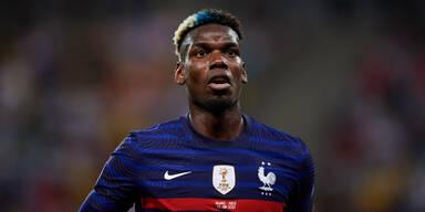 Frankreich-Star Paul Pogba